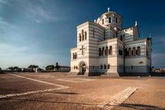 Die Hauptkathedrale von Chersonesos in Krim Stockfotografie
