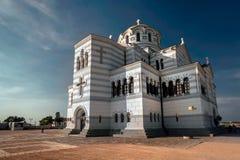 Die Hauptkathedrale von Chersonesos in Krim Lizenzfreie Stockbilder