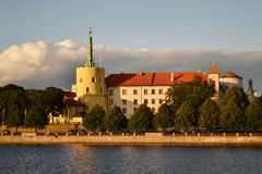 Die Hauptstadt von Lettland Lizenzfreie Stockfotografie
