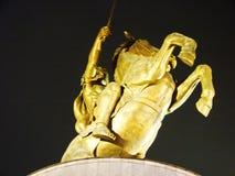 Die Hauptstadt von Mazedonien Skopje lizenzfreies stockbild