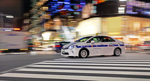 Die Hauptstraße in Ginza - Tokyo Lizenzfreies Stockbild