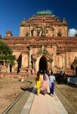 Die Haupttür Sulamani Tempel Bagan myanmar Lizenzfreies Stockfoto