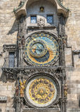 Die Hauptuhr von Prag Stockfotografie