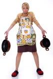 Die Hausfrau stockfotos