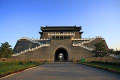 Die Haustür ZhengYangMen Stockbild