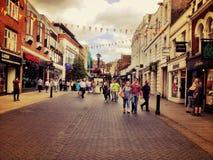 Die Hautpstraße, Windsor Lizenzfreies Stockbild