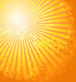 Die heiße Sommersonne Stockfotografie