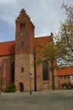 Die Heilig-Petri-Kirche, Ystad Lizenzfreie Stockbilder