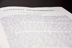 Die heilige Bibel lizenzfreie stockfotos