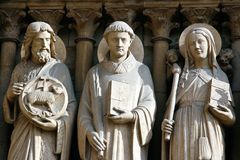 Die heilige der Kirche Stockfotos