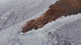 Die heilige Insel im Baikalsee stock footage
