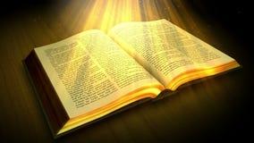 Die Heilige Schrift stock video footage