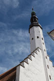 Die Heiliger Geist Kirche in Tallinn stockbilder