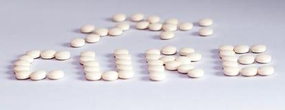 Die Heilung - Tabletten Stockfotografie