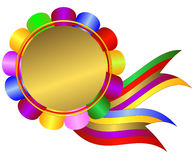 Die helle prize-winning Einfaßung lizenzfreie abbildung