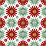 Die hellen Blumen des Musters Lizenzfreie Stockbilder