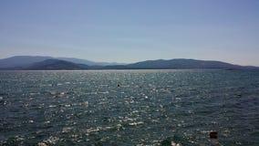 Die Helligkeit des Meeres Stockbild