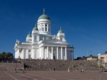 Die Helsinki-Kathedrale Stockfotografie