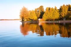 Die Herbstlandschaft lizenzfreies stockfoto
