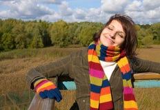 Die Herbstsonne lizenzfreies stockbild