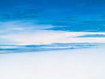 Die himmlische Fläche Lizenzfreies Stockfoto