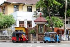 Die Hingabe zu St Anthony und zum Baby Jesus in Colombo, als gesehenem f lizenzfreies stockfoto