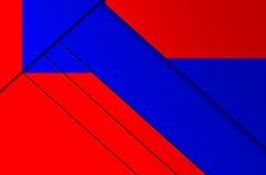 Die Hintergrundfarbgeometrie Lizenzfreie Stockfotos