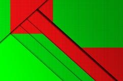 Die Hintergrundfarbgeometrie Lizenzfreies Stockfoto