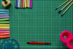 Die Hintergrundtinte und andere Ziehwerkzeuge Lizenzfreie Stockfotos