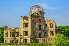 Die Hiroshima-Erinnerungshaube, Japan stockbilder