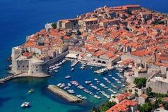 Die historische alte Stadt von Dubrovnik, Kroatien Lizenzfreies Stockfoto