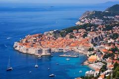 Die historische alte Stadt von Dubrovnik, Kroatien Stockfotografie