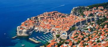 Die historische alte Stadt von Dubrovnik, Kroatien Stockbild