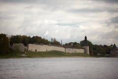 Die historische Architektur der Slawen Stockfoto