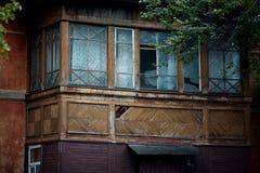 Die historische Architektur der Slawen Lizenzfreies Stockbild
