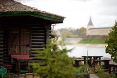 Die historische Architektur der Slawen Lizenzfreies Stockfoto