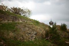 Die historische Architektur der Slawen Lizenzfreie Stockbilder