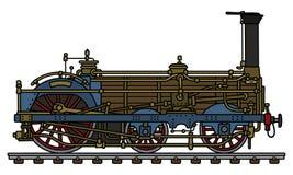 Die historische Dampflokomotive Stockfoto