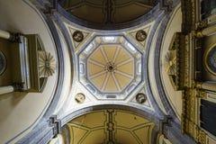 Die historische Kirche - Iglesia De La Salud Lizenzfreies Stockbild