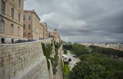 Die historische Mitte von Cagliari lizenzfreie stockfotos