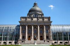 Die historische Regierung Staatskanzlei München Lizenzfreie Stockfotos
