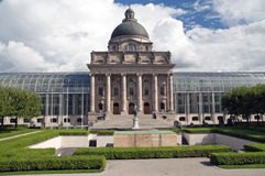 Die historische Staatskanzlei Bayerische Staatskanzlei von München im Bayern Lizenzfreies Stockbild