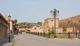Die historische Stadt von Mtskheta georgia Stockfotografie