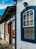 Die historische Stadt von Ouro Preto - Minas Gerais - Brasilien Lizenzfreie Stockfotografie