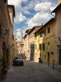 Die historische Stadt von Siena in Toskana Lizenzfreies Stockbild
