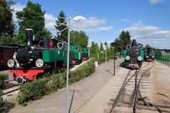 Die historischen Lokomotiven Stockbild