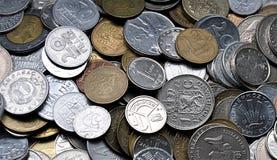 Die historischen Münzen Stockbild