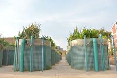 Die hoch entwickelte überschüssige Wasseraufbereitungsanlage Stockbilder