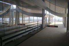 Die Hochgeschwindigkeitszugstation Lizenzfreie Stockfotos