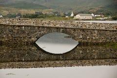Die Hochländer - Eilean Donan Castle Lizenzfreies Stockbild